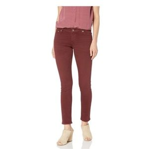 Red Lolita Skinny Lucky Brand Jeans